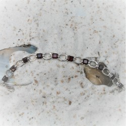 Zilveren armband met...
