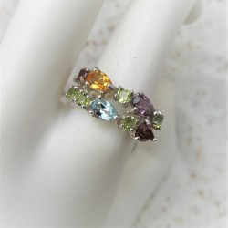 Multicolour ring met...