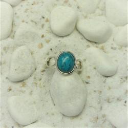 Sierlijke ring met ovale...