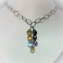 Multicolour briolet ketting...