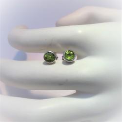 Zilveren oorstekers met...