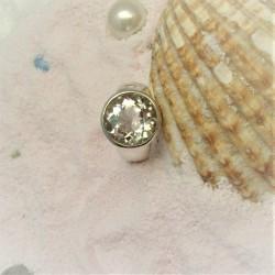 Ring met ronde bergkristal