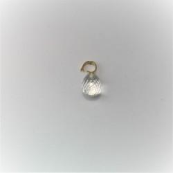 Zilveren witte pareloorbellen