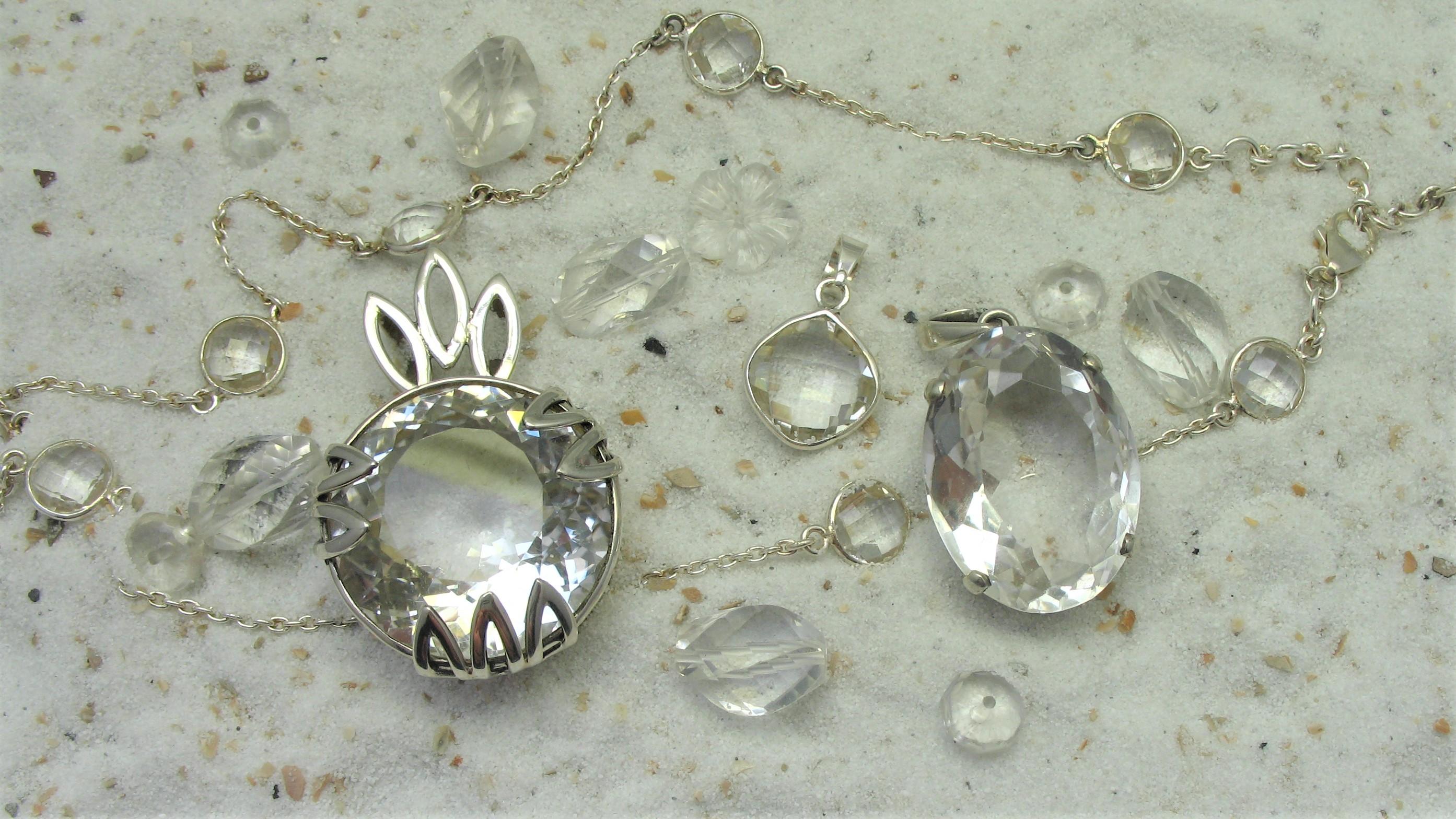 Bergkristal sieraden